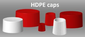 HDPE caps final 300x132 - Offering mono-material products as a sustainability option